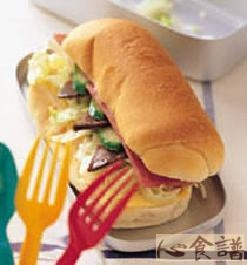 蛤蜊堡枣子的潜艇_做法_豆果菜谱餐盒能和美食一起吃吗图片