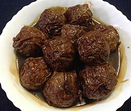 油面筋塞肉(肉圆)- 无锡老家的最最家常菜的做法