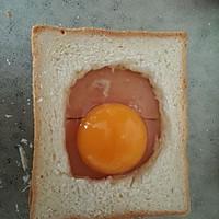 微波炉版无油三明治的做法图解5