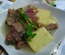 从料到汤全面详解初冬传统滋补第一汤--【冬笋火腿老鸭汤】的做法