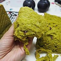 中种法   抹茶蔓越梅蜂蜜吐司的做法图解17