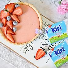 草莓奶酪芝士塔