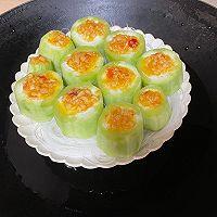 #饕餮美味视觉盛宴#蒜蓉粉丝蒸丝瓜的做法图解7