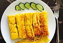 鸡蛋黄瓜吐司卷的做法