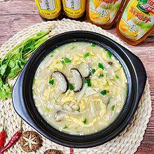 鲜美菌菇豆腐汤 太太乐鲜鸡汁芝麻香油