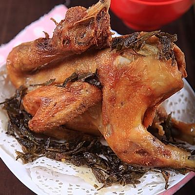 茶香脆皮鸡