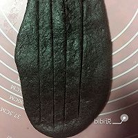 黑芝麻豆沙包的做法图解6