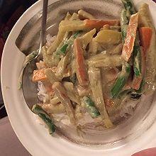 泰式绿咖喱(vegan)