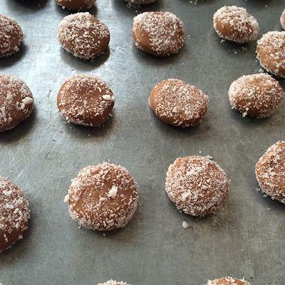 巧克力奶酥饼的做法 步骤5
