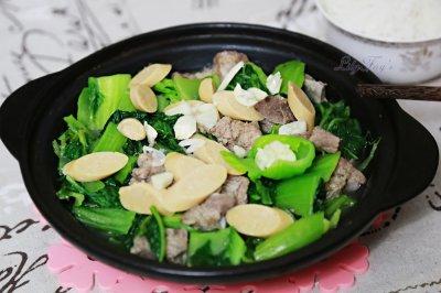 冬天的暖胃法宝:咸骨芥菜煲