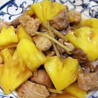 菠萝炒肉片