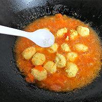 #春季减肥,边吃边瘦#番茄鸡肉丸的做法图解13