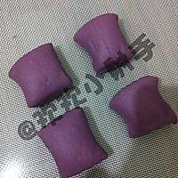紫薯玫瑰花馒头的做法图解5
