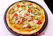 金枪鱼鲜虾披萨的做法