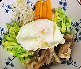 韩式肥牛拌饭的做法