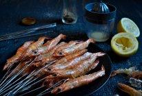 柠香盐烤虾#松下烤箱烘焙盛宴#的做法