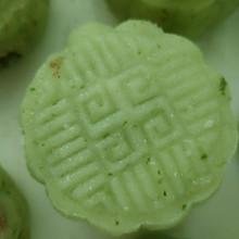 青花豆沙月饼#手作月饼#