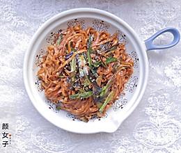 葱油拌面#麦子厨房美食锅##餐桌上的春日限定#的做法