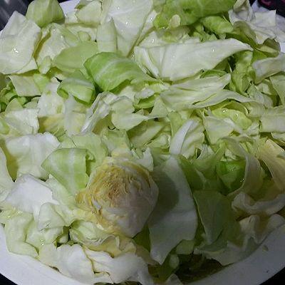腐乳抄椰菜的做法 步骤1