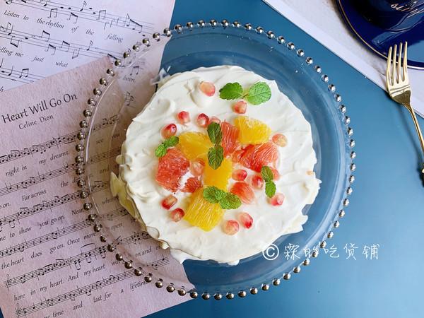 水果雪崩蛋糕的做法