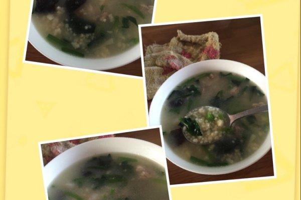 小米海鲜疙瘩汤的做法