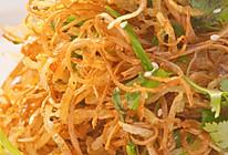 【烧汁土豆松茶树菇】土豆丝这样吃,简单精致上档次!的做法