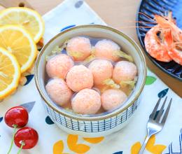 小米虾滑汤的做法