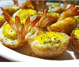 虾扯蛋——台湾夜市小吃的做法