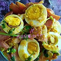 香肠遇熟蛋的做法图解4