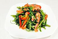 椒丝腐乳通菜的做法