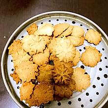 红枣黑芝麻黄油曲奇饼干