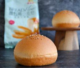 #爱好组-高筋#一次发酵汉堡胚的做法