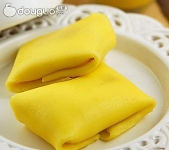 芒果1个 黄油8克 糖粉10克 白砂糖30克 芒果班戟的做法步骤 1.