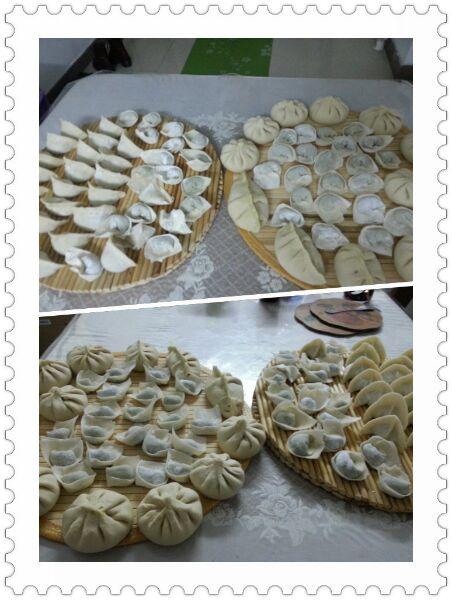 三鲜馅包子,饺子,馄饨的做法图解3