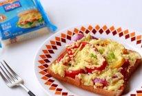 盛夏田园蔬菜吐司披萨#百吉福食尚达人#的做法