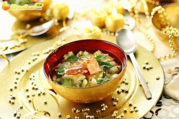 南瓜白菜汤的做法
