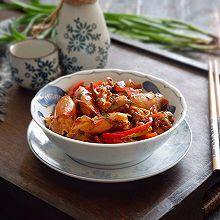 干锅笔管鱼#食力对决#