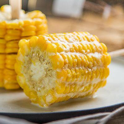 奶香玉米棒的做法 步骤6