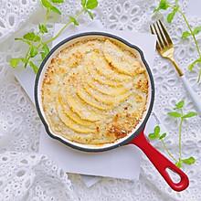 减脂早餐—黄桃椰蓉烤燕麦