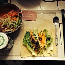 自制蔬菜卷