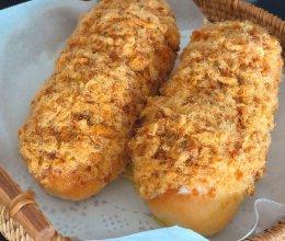 馋嘴奶酪香肠松松面包的做法