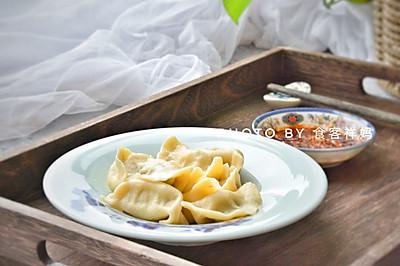 天气热了,没胃口!吃茴香饺子吧!