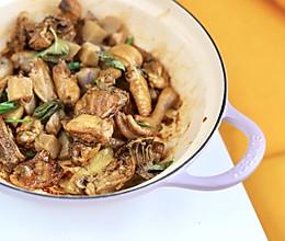 谁说小白不能做硬菜?可乐芋头炖鸡,零难度超下饭的做法