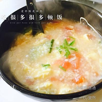 易上手的养胃小米疙瘩汤
