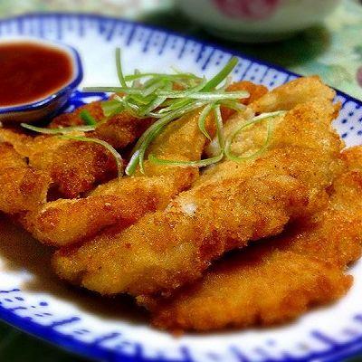 香酥鱼排(龙利鱼)