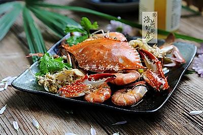 虾蟹一锅焖,鲜到没朋友!