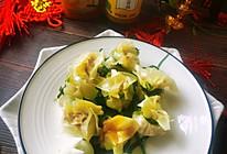 #太太乐鲜鸡汁芝麻香油#鸡汁兰花的做法