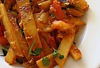 东北番茄鸡蛋炒饼/营养不长肉肉的做法