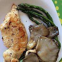 橄榄油煎鸡肉排