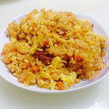 泡菜培根炒饭